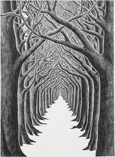 Stanley Donwood - The End of Humor - courtesy of TAG Fine Arts