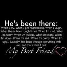 Most definitely have a couple guys like this...chicks may come and go, but my best guy friends are ride or die <3