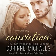 Narrated by Andi Arndt and Sebastian York  NOTE: Book 1 must be read before Conviction. The review below contains spoilers for Book 1. If you have not yet listened to Conviction, please see the AudioGals review.  The second part to the Consolation Duet proves to bring new impossible choices to its c