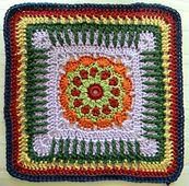 Ravelry: Sadie Square pattern by Melissa Green