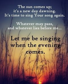 Defeat the devil and decide to be happy, to give God praise today regardless what is going on around you... Morning inspiration / praise / song / lyrics
