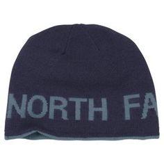The North Face Reversible TNF Banner Beanie for Men - Cosmic Blue