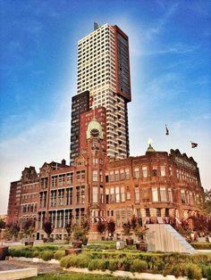 Hotel New York Rotterdam — Kop Van Zuid foto van Koert van Vliet