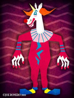 "A Unicorn a Day ""Killer Clown Unicorn"""