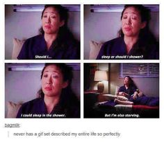Cristina is my life <<<< she is my spirit animal