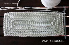 Top 100 Ideen In Crochet Und In Crochet - Diy Crafts - Maallure - Diy Crafts Crochet Sole, Crochet Motif, Crochet Stitches, Crochet Handbags, Crochet Purses, Crochet Bags, Crochet Flowers, Diy Crafts Crochet, Crochet Projects