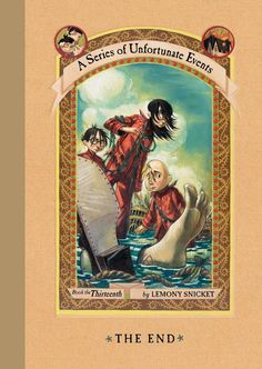 A Series of Unfortunate Events. Loved reading these to my kids.