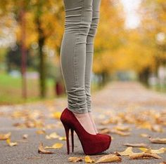 High heels and jeans love