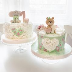 1st Bday Cakes - Cake by Art Bakin'