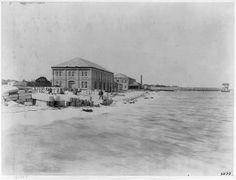 Pensacola Naval Yard 1899 Now Pensacola NAS