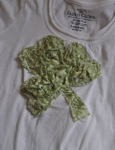 Ruffled Shamrock Shirt
