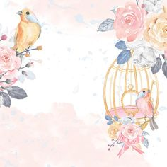 VK is the largest European social network with more than 100 million active users. Flower Background Wallpaper, Rose Wallpaper, Watercolor Wallpaper Iphone, Watercolor Art, Flower Backgrounds, Wallpaper Backgrounds, Happy Birthday Wallpaper, Angel Pictures, Baby Art