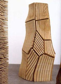 Primarily Wood ...david nash...british wood artist..sculptor....blaenau ffestiniog..wales..uk...Primarily Wood...