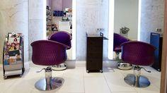 BEAUTY SPA BY WORLD CLASS в Монако  Парикмахерские кресла из коллекции Bohéme by Maletti  #maletti #beautystudio #beautysalon #worldclass #beautyspa #салонподключ #салонкрасоты #интерьер