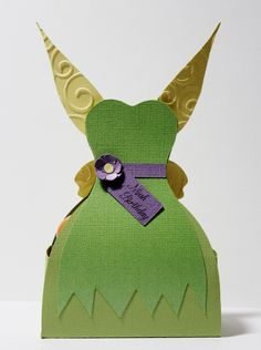 Tinkerbell Fairy Favor Box Treat Box Candy by PaperletteDesigns
