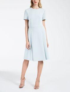 08c5cb1e780c Max Mara ALARICO sky blue: Cady dress. New York Style, Effortless Chic,