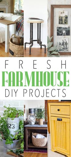 Fresh Farmhouse DIY Projects - The Cottage Market