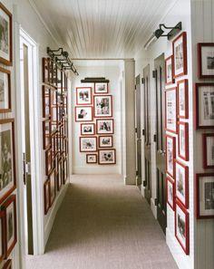 Steven Gambrel design in Elle Decor Home Interior, Interior Design, Modern Interior, Dark Doors, Gambrel, Hamptons House, My Dream Home, Decoration, Sweet Home