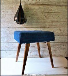 Vintage Hocker - Vintage 60'er 70'er DDR Hocker Stuhl - ein Designerstück von elisabethUNDjohannes bei DaWanda