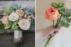 The Art of the Fauxquet: 15 Ways to Make a Fake Bouquet via Brit + Co.