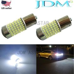 JDM ASTAR Extreme Bright White 2400Lm 1156 BA15S 144SMD LED Light Bulb 7503 1141 #JDMASTAR