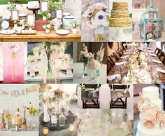 Pretty Pastels | Wedding Inspiration Board