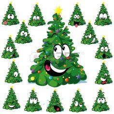 Cartoon Christmas Tree, Christmas Tree Crafts, Cool Christmas Trees, Christmas Drawing, Christmas Clipart, Christmas Animals, Christmas Pillow, Outdoor Christmas Decorations, Christmas Humor
