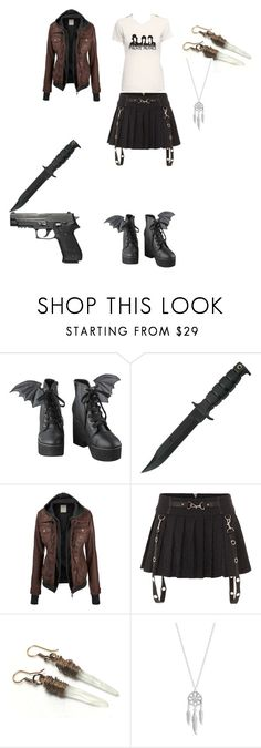 """Untitled #62"" by lexaguilbert ❤ liked on Polyvore featuring Iron Fist and Lucky Brand"