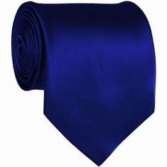 Royal Blue (matches the Horizon blue of my dress) tie