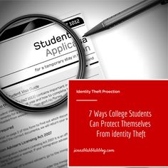 Identity Theft Protection Tips For Parents & College Students #LifeLockUltimatePlus #ad