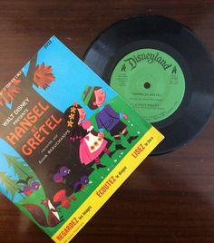 vintage Tunes ... Walt Disney HANSEL et by ThriftyDiversions