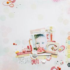 Sugar sweet by all_that_scrapbooking at @studio_calico