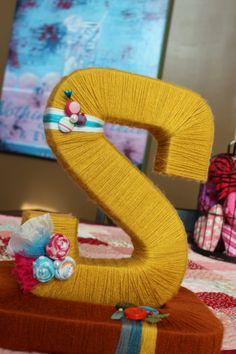Custom MonoGram Yarn Letter 12 inch by WeeBits2 on Etsy, $24.99 Yarn Letters, Craft Letters, Letter A Crafts, Fun Ideas, Gift Ideas, Door Signs, Yarn Crafts, Door Wreaths, Cool Gifts