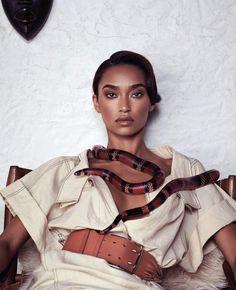 Harper's Bazaar US March 2015 | Anais Mali by Nathaniel Goldberg #fashioneditorials