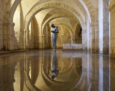 Antony Gormley, Sound II, Winchester Cathedral
