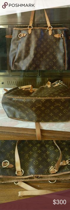 LOUIS VUITTON...bucket AUTHENTIC Small bucket  body of the bag is in good condition...strap needs mending ...cracked rim...  price is reasonbly.... Louis Vuitton Bags