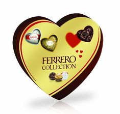 Ferrero Collection Heart Gift Box, 10 Pieces, 3.8-Ounces - http://mygourmetgifts.com/ferrero-collection-heart-gift-box-10-pieces-3-8-ounces/