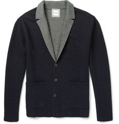 Wooyoungmi Knitted Wool-Blend Cardigan