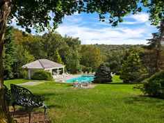 Grace Mayflower Inn and Spa Washington, Connecticut Country Pool Scenic views tree grass outdoor park Nature green woodland backyard Garden grassy outdoor recreation meadow Forest rural area lawn camping yard seat area lush shade