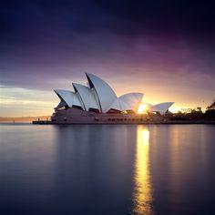 #Sydney #Australia #sunrise World Famous, Oh The Places You'll Go, Vacation Destinations, Photo Credit, New Zealand, Sunrise, Sydney Australia, Coast, Wanderlust