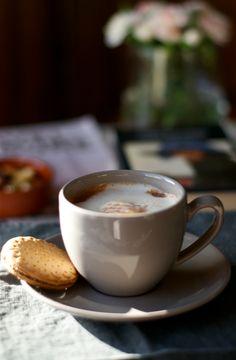 kitchen & aroma: hot chocolate with home-made vanilla sugar