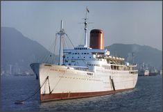 Ocean Queen. Built in Germany in 1964 as BASHKIRIYA for Black Sea Shipping co. USSR. Thence: 1991 ODESSA SONG, 1997 ROYAL DREAM, 1998-2003 SILVER STAR. 2003 NANDINI. 2003 OLVIAVA. 2004-2006 OCEAN PRINCESS, OCEAN QUEEN and SIRITARA OCEAN QUEEN. She capsized in Bangkok in October 2006.