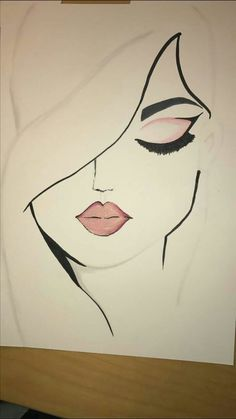 Harika Resm In 2019 Drawings Art Sketches Easy Drawings - Coloring Page Ideas Cute Easy Drawings, Cool Art Drawings, Pencil Art Drawings, Beautiful Drawings, Easy People Drawings, Pencil Sketches Easy, Pencil Drawing Tutorials, Art Du Croquis, Girl Drawing Sketches