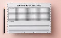 Enfim, resolvido!: Controle de hábitos (habit tracker) para download