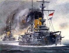 Navy Paintings by Artist Vladimir Emyshev