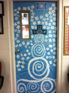 snowflakes and snowman door decoration idea by whca christmas classroom door snowman door doors