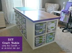 DIY Craft Table - Inspiration DIY