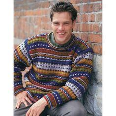 Free Easy Men's Sweater Knit Pattern