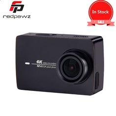 239.39$ Buy now - aliqse.worldwells... - In Stock Black !! Xiaomi YI 4K Action HD Camera 2 II 2.19 Retina Screen IMX377 12MP 155 Degree EIS LDC Sport Camera 239.39$