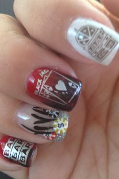Viva! Las Vegas Nail!  By Heidi Milliner PUT ON THE GLITZ